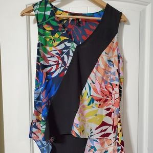 BCBG Maxazria sleeveless blouse